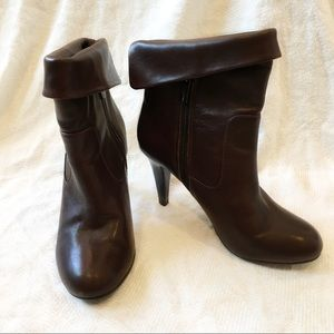 [MICHAELMICHAELKORS] Leather ankle booties boots